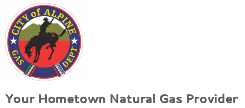 City of Alpine Gas Dept Your Hometown Natural Gas Provider